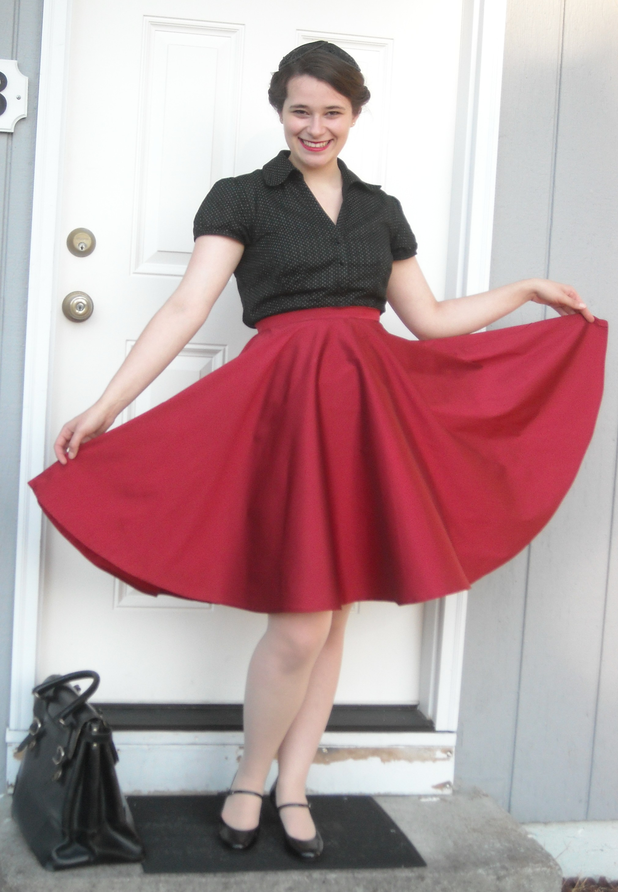 46db257e5b59 A taffeta circle skirt for swing dancing – anna in technicolor