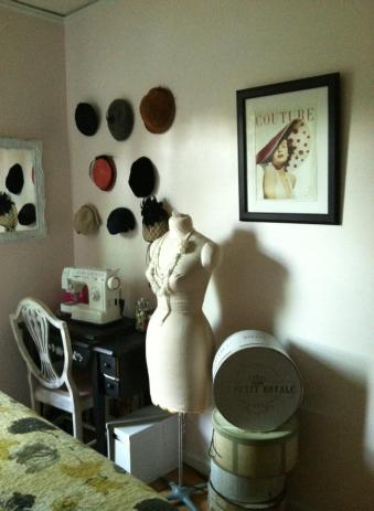 New sewing corner